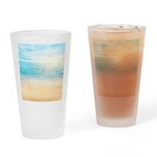Beautiful Beach Drinking Glass