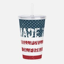 Made in Phillipsville, Acrylic Double-wall Tumbler