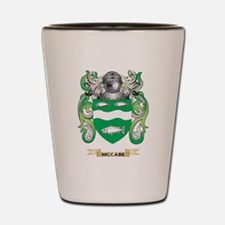 McCabe Coat of Arms - Family Crest Shot Glass