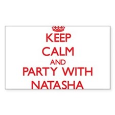 Keep Calm and Party with Natasha Decal