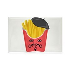 Le French Fries from France Magnets