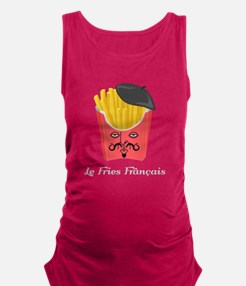Le French Fries from France Maternity Tank Top