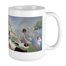 Bathers at Asnieres Mugs
