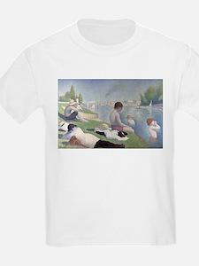 Bathers at Asnieres T-Shirt
