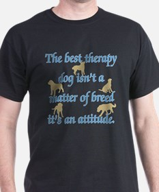 Best Therapy Dog T-Shirt