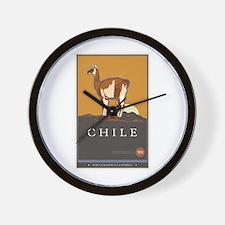 Chile Wall Clock