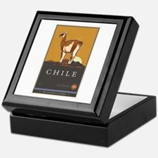 Chile Keepsake Box