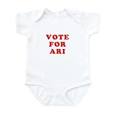 Vote For Ari Infant Bodysuit