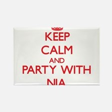 Keep Calm and Party with Nia Magnets