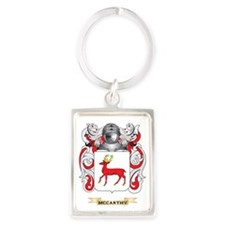 McCarthy Coat of Arms - Family C Portrait Keychain