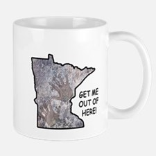 Frozen in Minnesota: get me out of here! Mugs