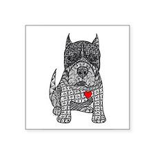 Devotion -American Pitbull Terrier 2 Sticker