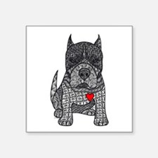 Devotion -American Pitbull Terrier 2 Sticker