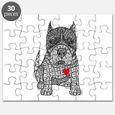 Devotion -American Pitbull Terrier 2 Puzzle
