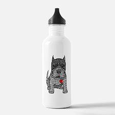 Devotion -American Pitbull Terrier 2 Water Bottle