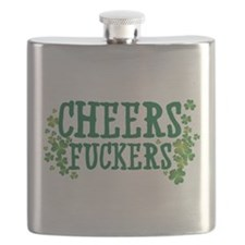 Cheers Fuckers Flask