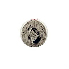 Zero Gravity Footprint Mini Button