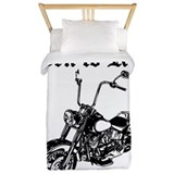 Motorcycle Luxe Twin Duvet Cover
