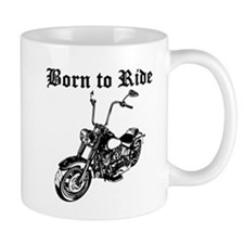 Born To Ride Motorcycle Mugs