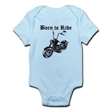 Born To Ride Motorcycle Body Suit