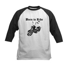 Born To Ride Motorcycle Baseball Jersey