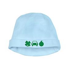 Irish Car Bomb baby hat