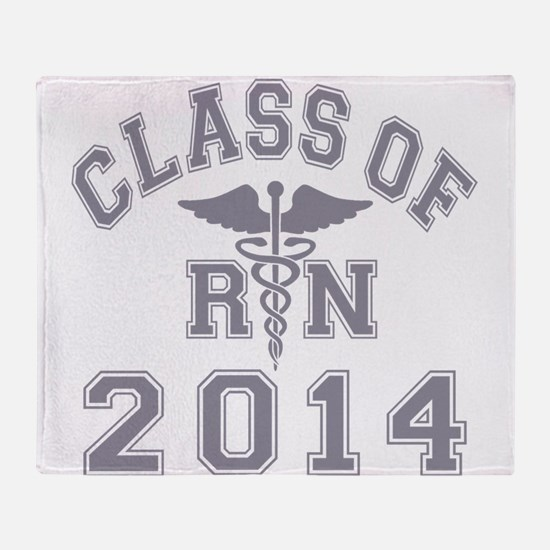Class Of 2014 RN Throw Blanket