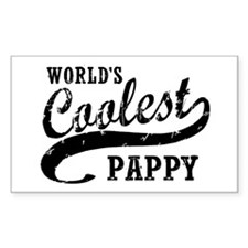 World's Coolest Pappy Stickers