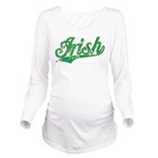Irish Vintage Long Sleeve Maternity T-Shirt