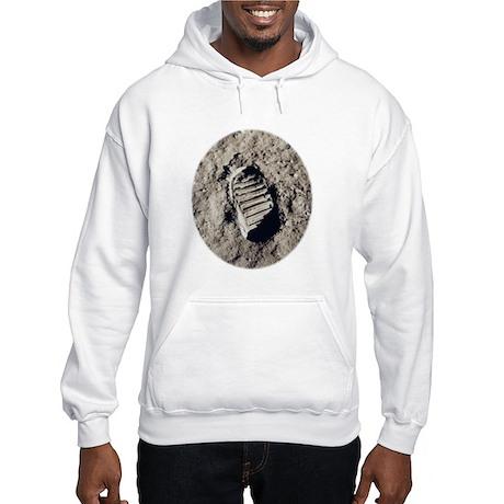 Moon Footprint Hooded Sweatshirt