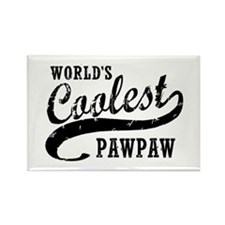World's Coolest PawPaw Rectangle Magnet