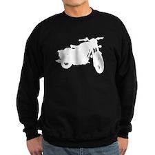 Vintage Motorcycle Silhouette Sweatshirt