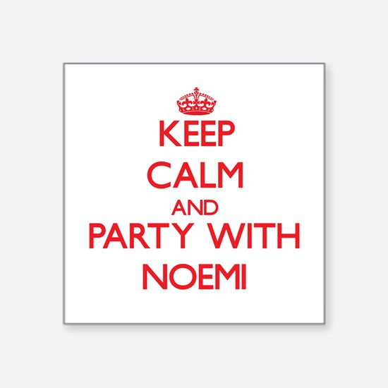 Keep Calm and Party with Noemi Sticker