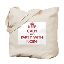Keep Calm and Party with Noemi Tote Bag