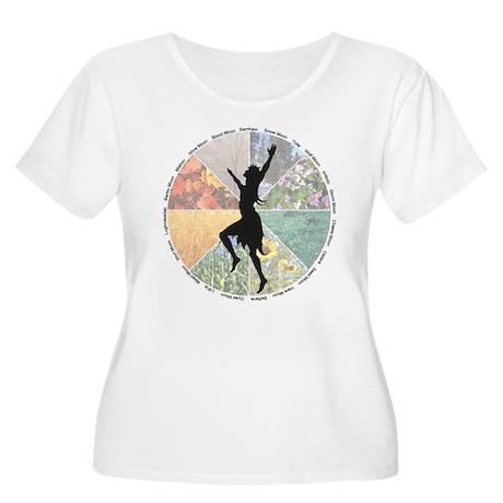 DancingtheWheel Plus Size T-Shirt