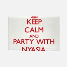 Keep Calm and Party with Nyasia Magnets