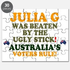 AUSTRALIA - JULIA G WAS BEATEN BY THE UGLY  Puzzle