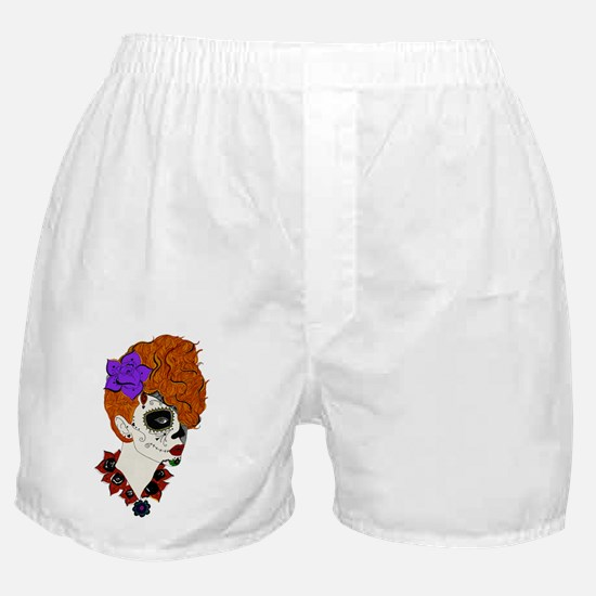 Sugar Skull Beauty Boxer Shorts