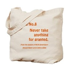 RULE NO. 8 Tote Bag