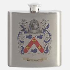 McDermott Coat of Arms - Family Crest Flask