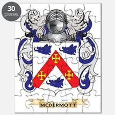 McDermott Coat of Arms - Family Crest Puzzle