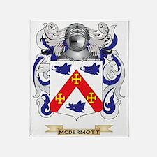 McDermott Coat of Arms - Family Cres Throw Blanket