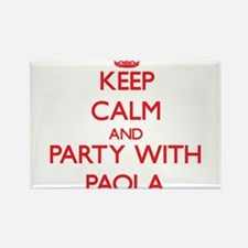 Keep Calm and Party with Paola Magnets