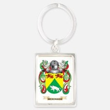 McDonagh Coat of Arms - Family C Portrait Keychain