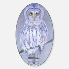 Snow Owl Decal