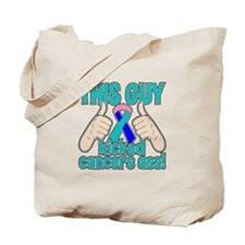 Thyroid Cancer Kick Cancer Tote Bag