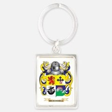 McDonnell Coat of Arms - Family  Portrait Keychain