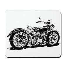 Vintage Motorcycle Mousepad