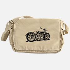 Vintage Motorcycle Messenger Bag