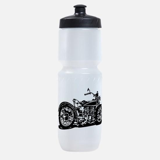 Vintage Motorcycle Sports Bottle